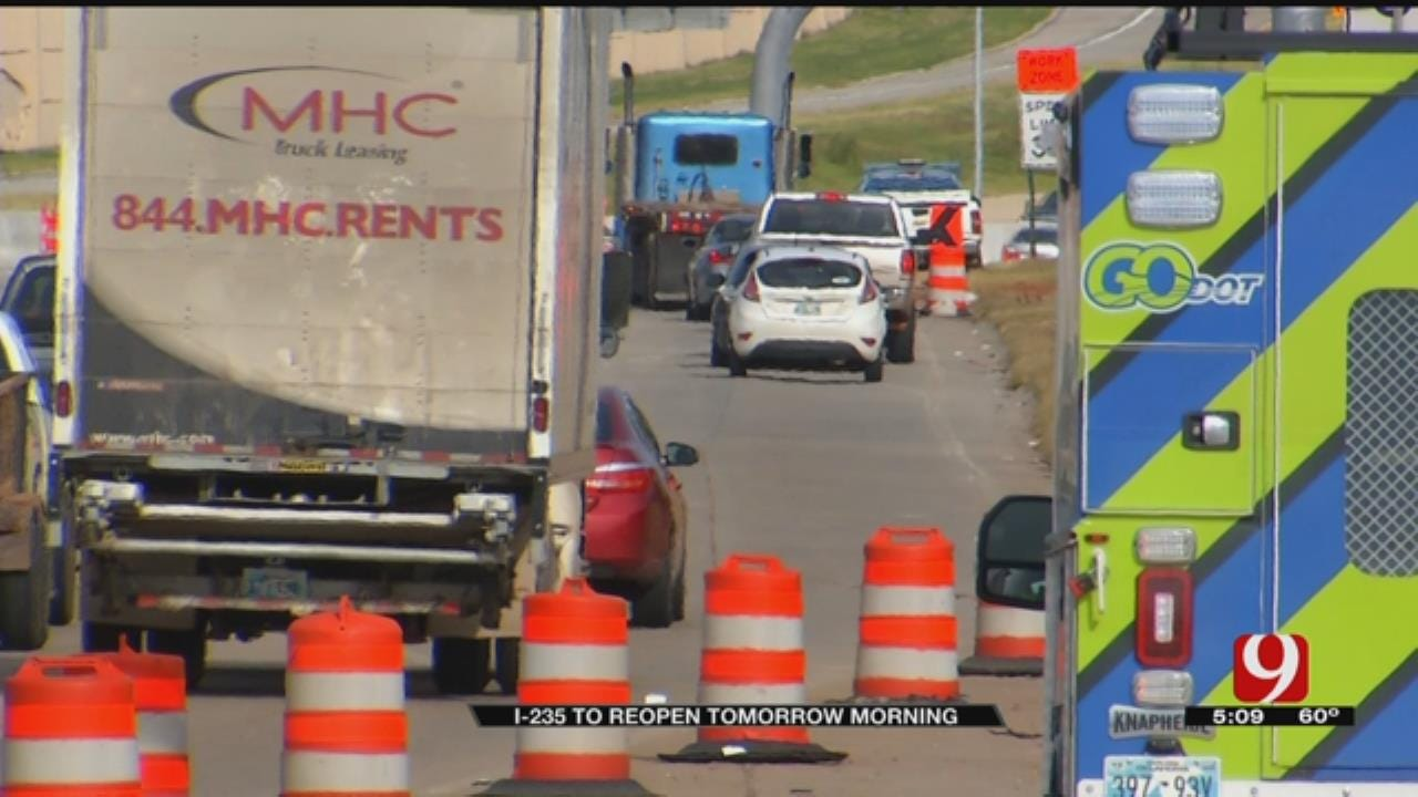 I-235 To Reopen Ahead Of Next 'Off-Broadway' Project In OKC