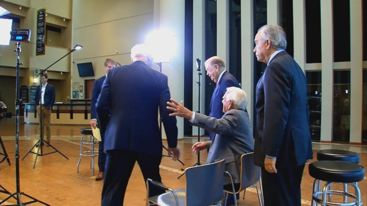 Former Oklahoma Governors Meet To Reflect About Their Time In Office With News 9