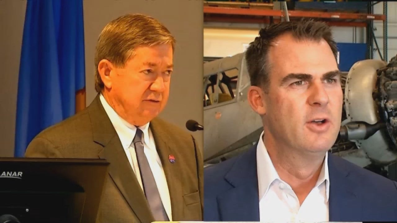 Stitt Leads Edmondson In Race For Governor In Exclusive News 9 Poll