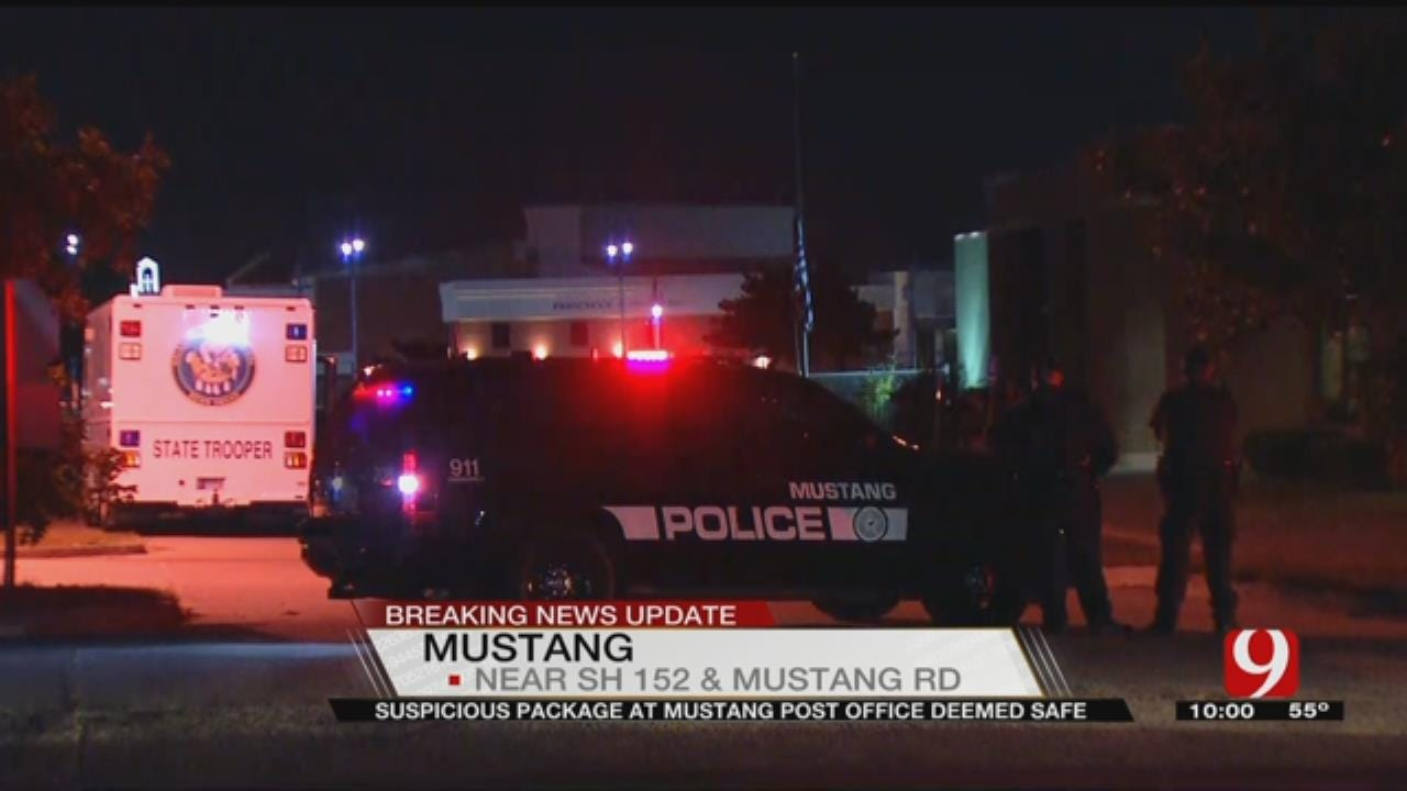 Suspicious Package At Mustang Post Office Deemed Safe