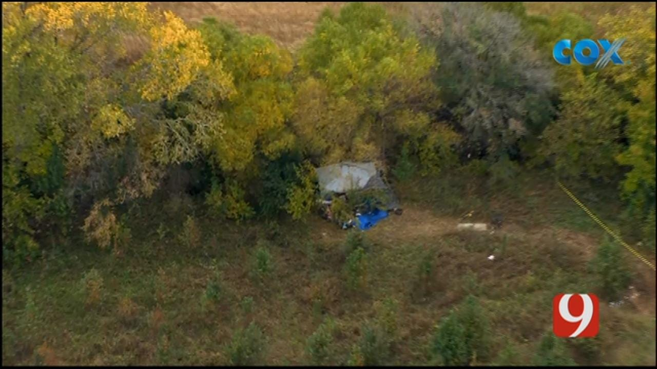 Body Found In Norman Creek