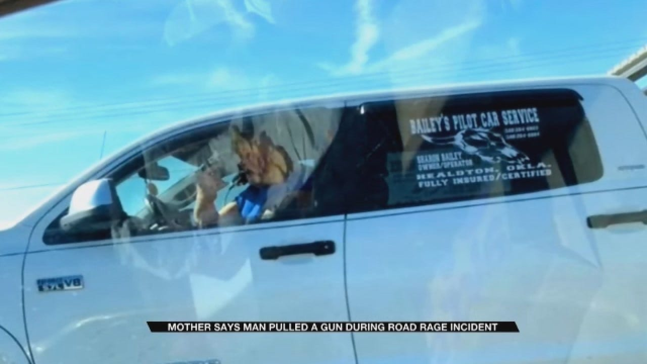 Norman Mom Says Man Pulled A Gun During Road Rage Incident
