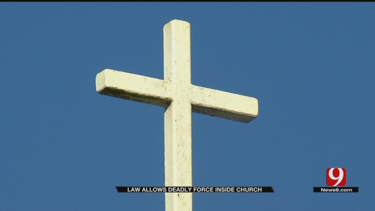 Law Expanding 'Stand Your Ground' To Include Places Of Worship Goes Into Effect Nov. 1