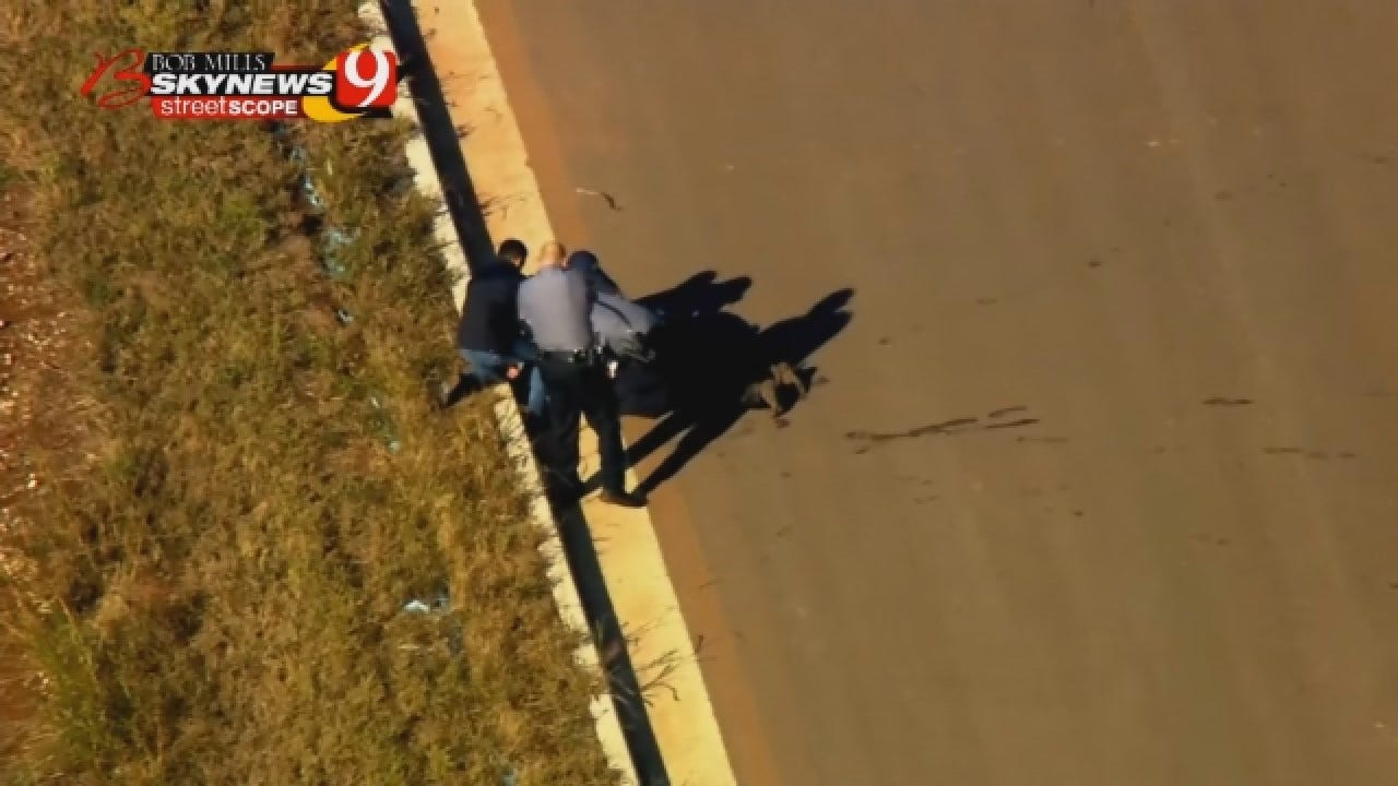WATCH: Bethany Pursuit Suspect Taken Down By Taser