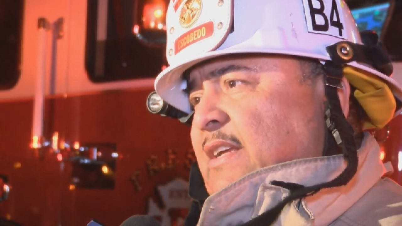 Firefighters Say Man Burned Down Home Using Blowtorch To Kill Spiders