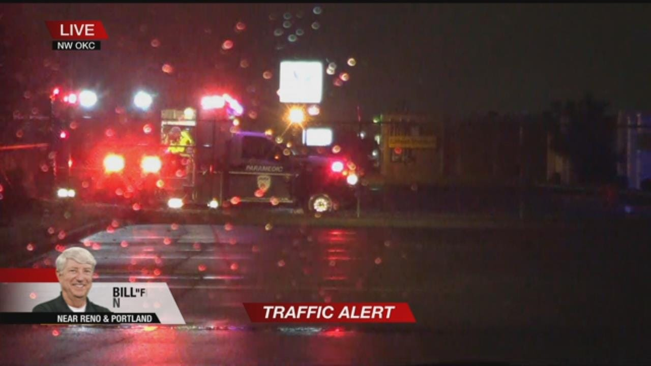 Crews Respond After Cyclist Struck By Semi In OKC