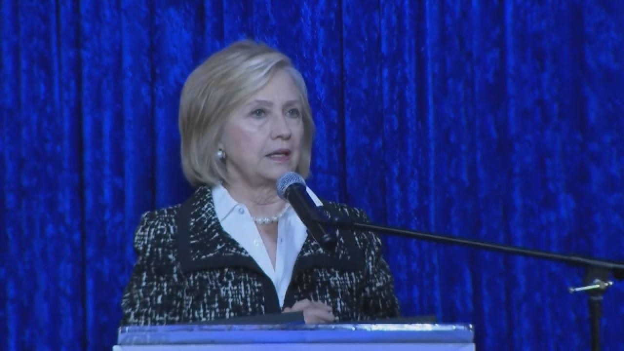 Hillary Clinton Speaks About Explosive Devices Sent To Her Home
