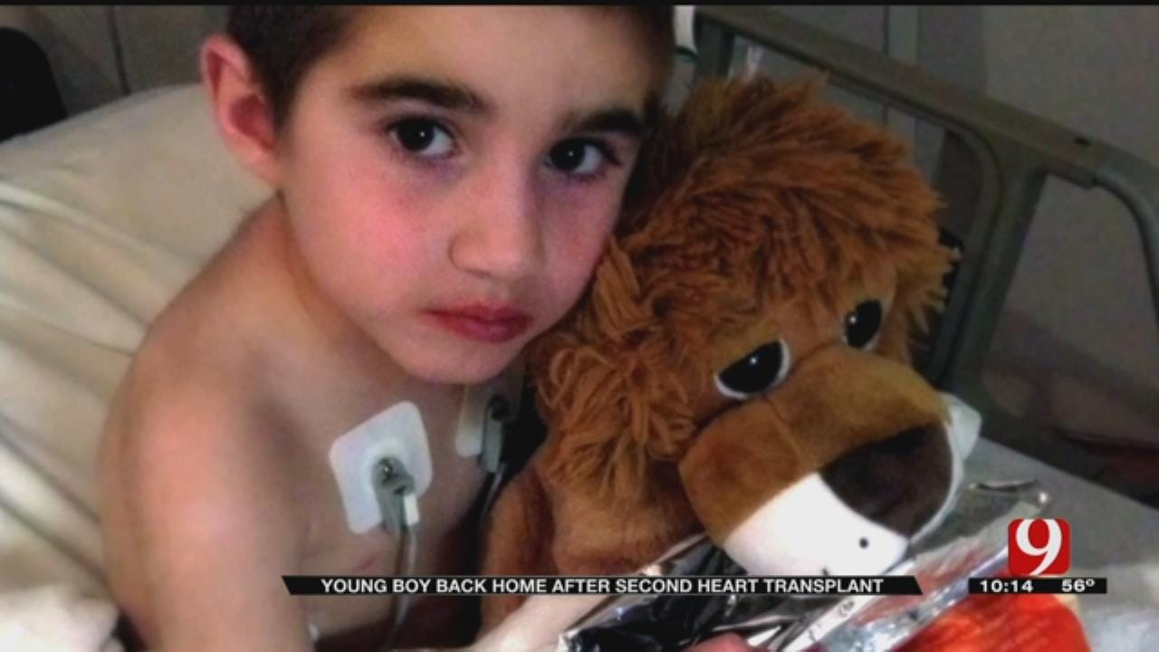 Lexington Boy Returns Home With New Heart After Six Year Wait