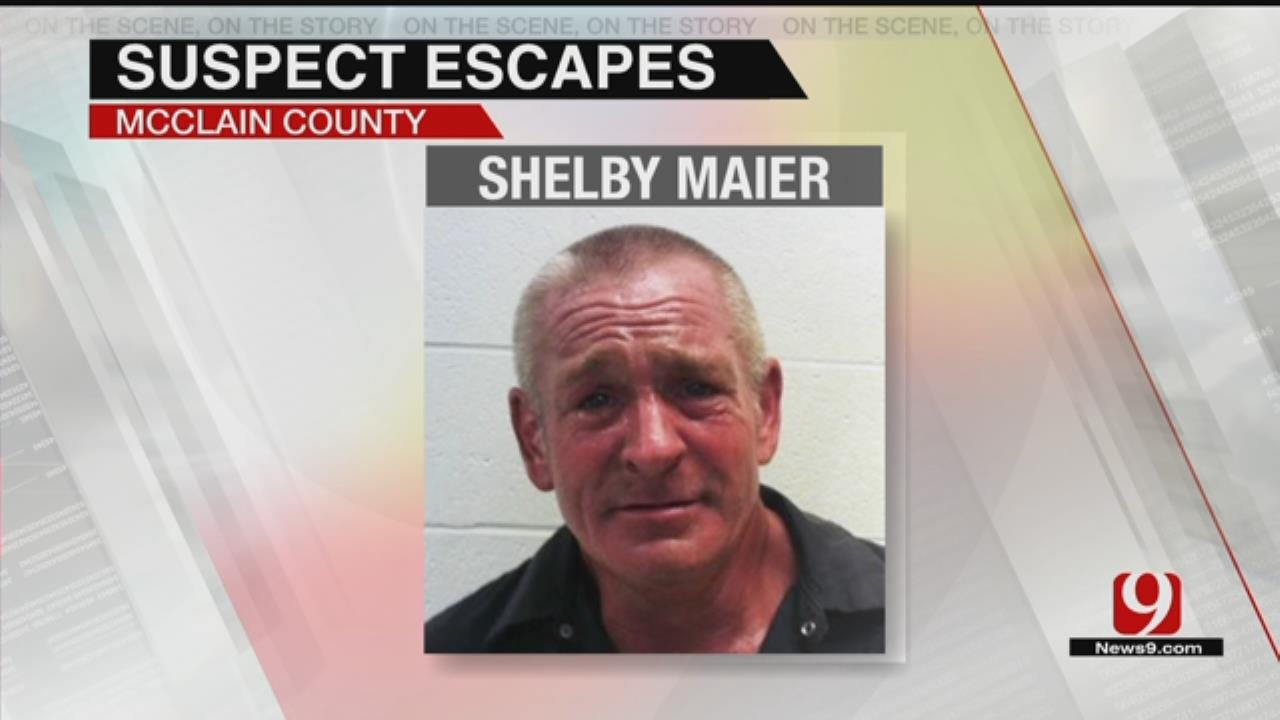 Authorities Searching For McClain County Escapee