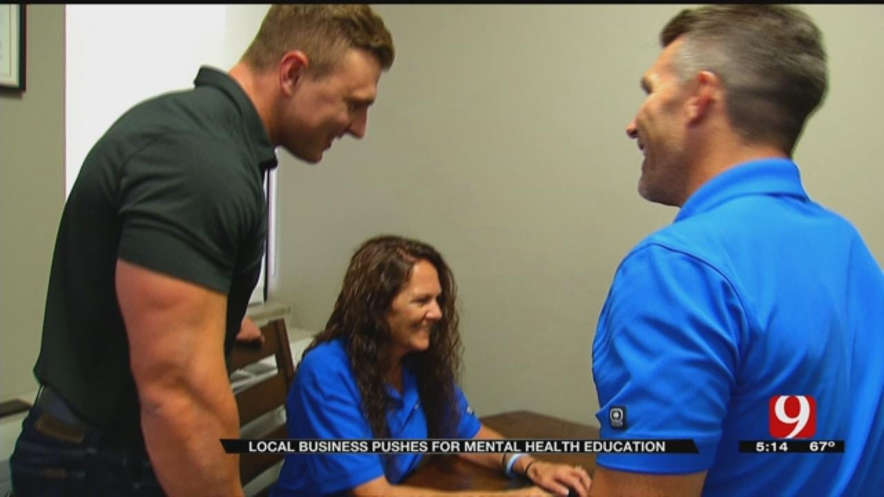 OKC Company Developing Mental Health Lesson Plan For HS Students