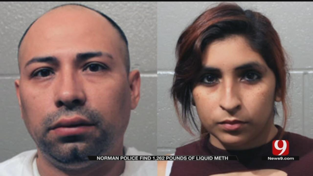 $4.4M In Liquid Meth Seized By Norman Police; 2 Arrested