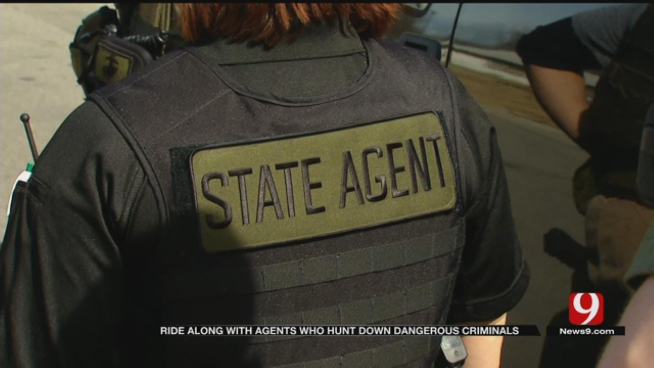 Tracking A Fugitive: Exclusive Ride-Along With Oklahoma DOC Agents