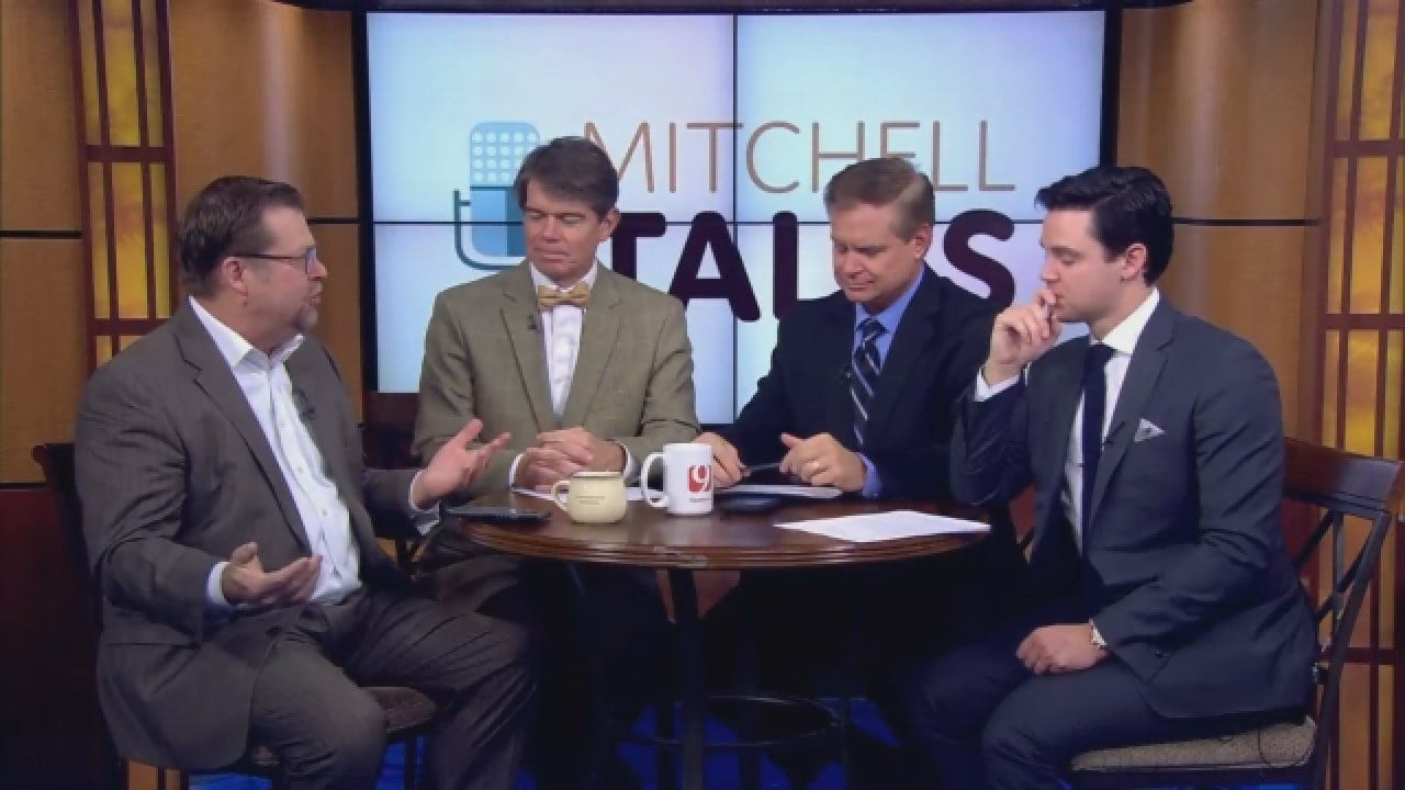 Mitchell Talks: The 3 P's: Pence, Pauls Valley, And 'Pocahontas'