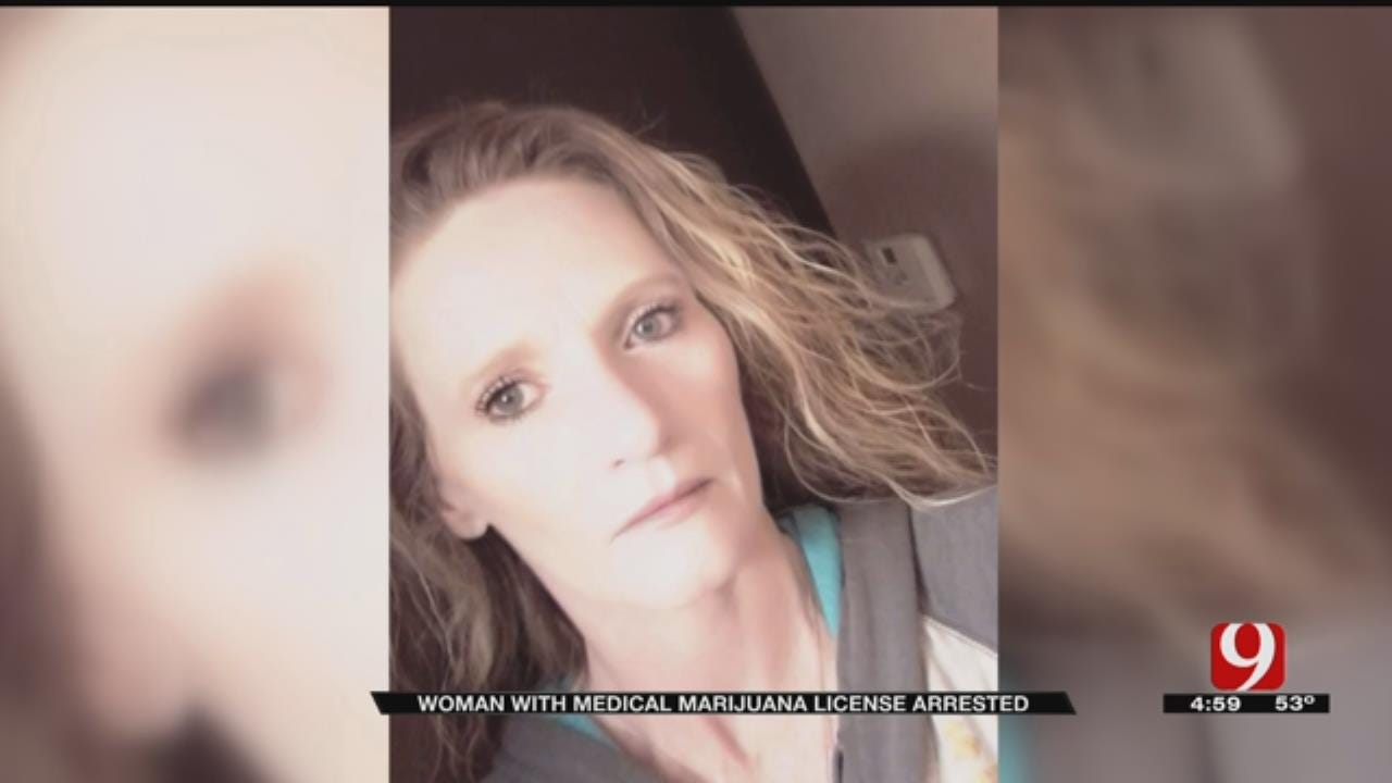 Oklahoma Woman Charged With Possession, Despite Having Medical Marijuana License