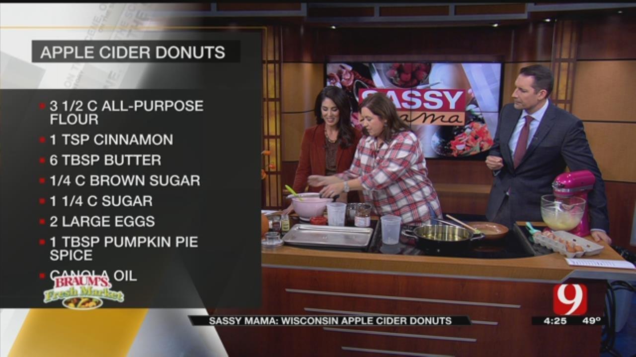 Sassy Mama: Making Donut Dough