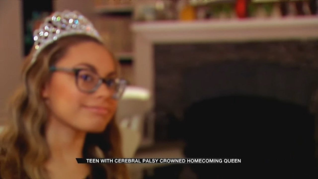 Oklahoma Teen With Cerebral Palsy Crowned Homecoming Queen