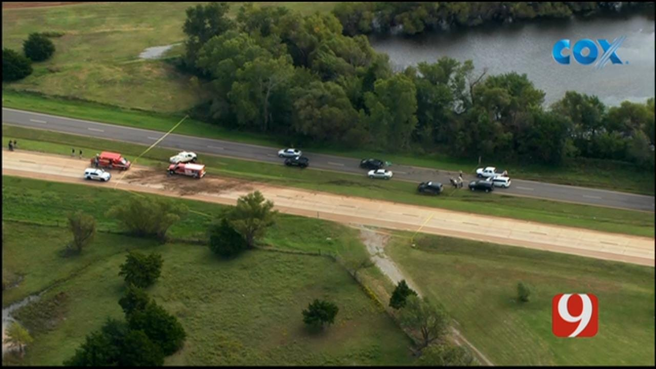 Suspect Shot After Police Chase Near Okarche