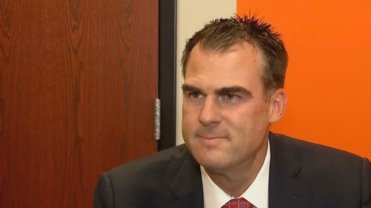 EXCLUSIVE: Stitt Responds After President Trump Endorses Him For Governor