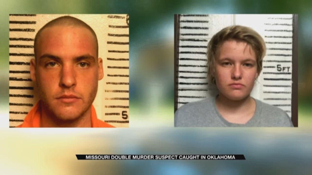 Pauls Valley Police Arrest Missouri Double Murder Suspect
