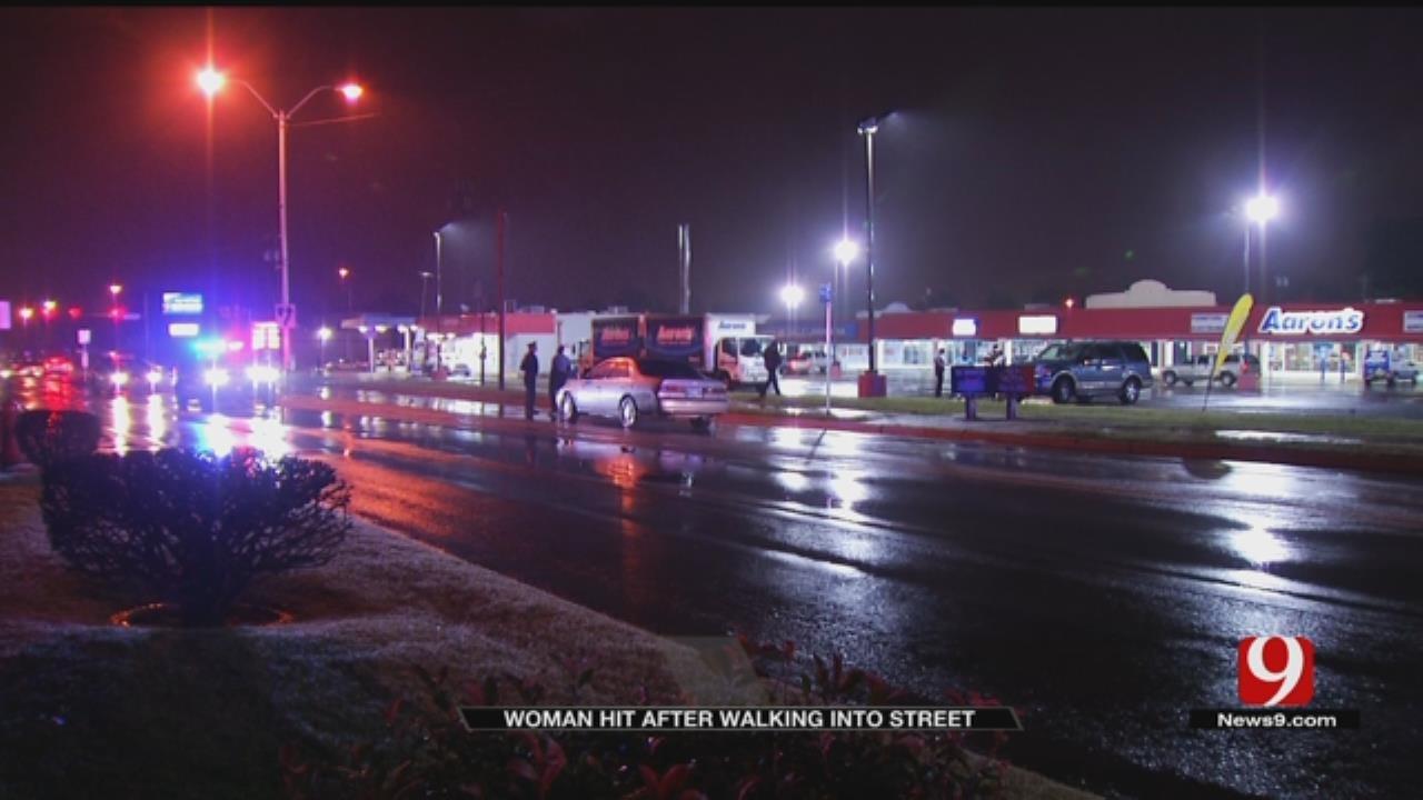 Woman Struck By Car In SW OKC