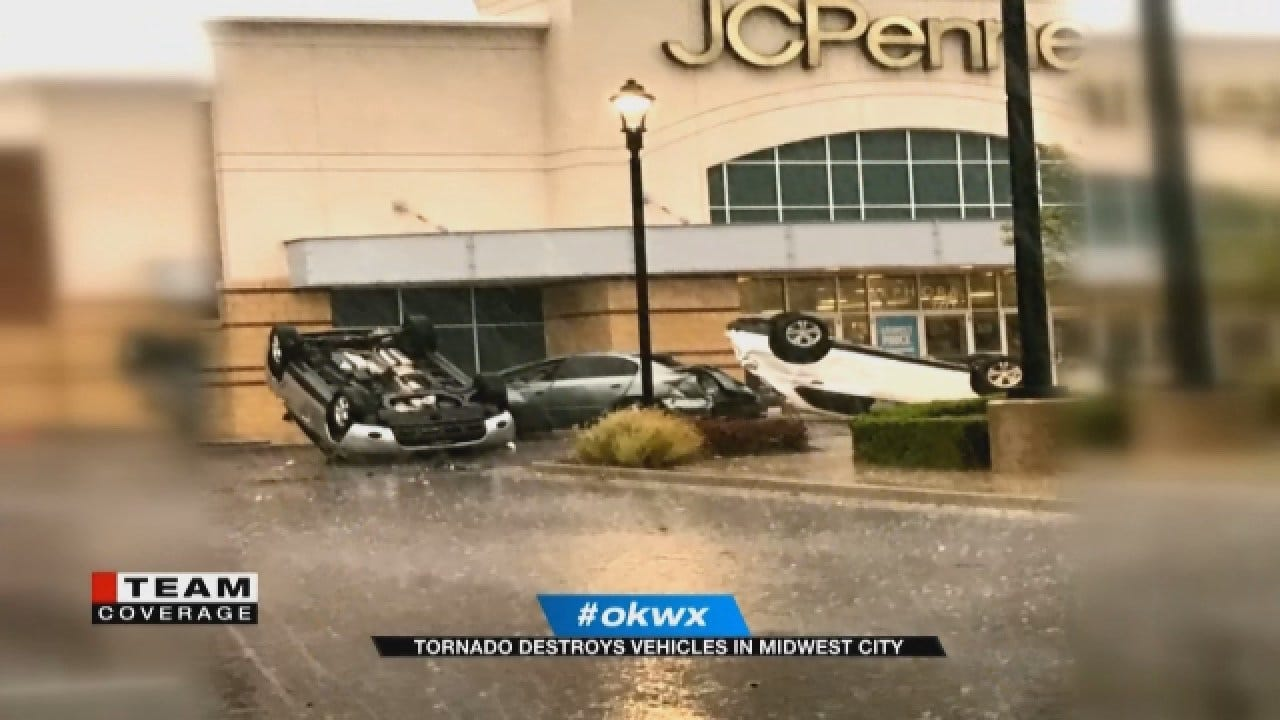 Morning Storms Across OKC Metro Caught On Video