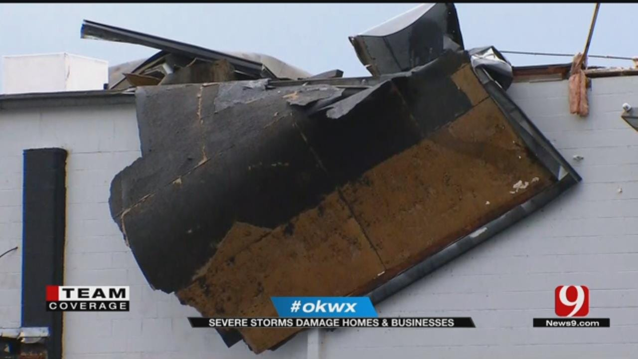 No Injuries Reported After Tornado Damages Homes, Businesses In MWC