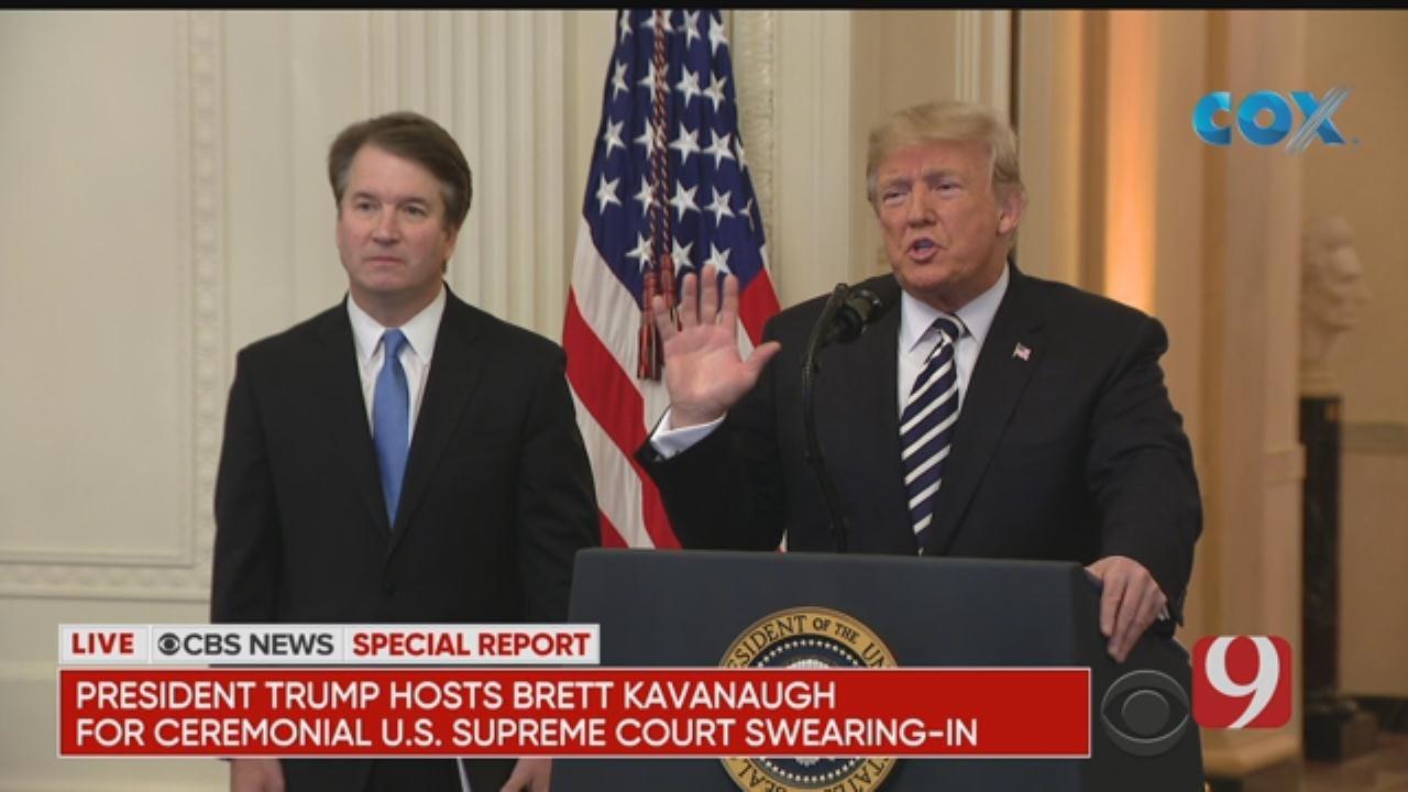 President Trump Hosts Brett Kavanaugh Swearing-In Ceremony