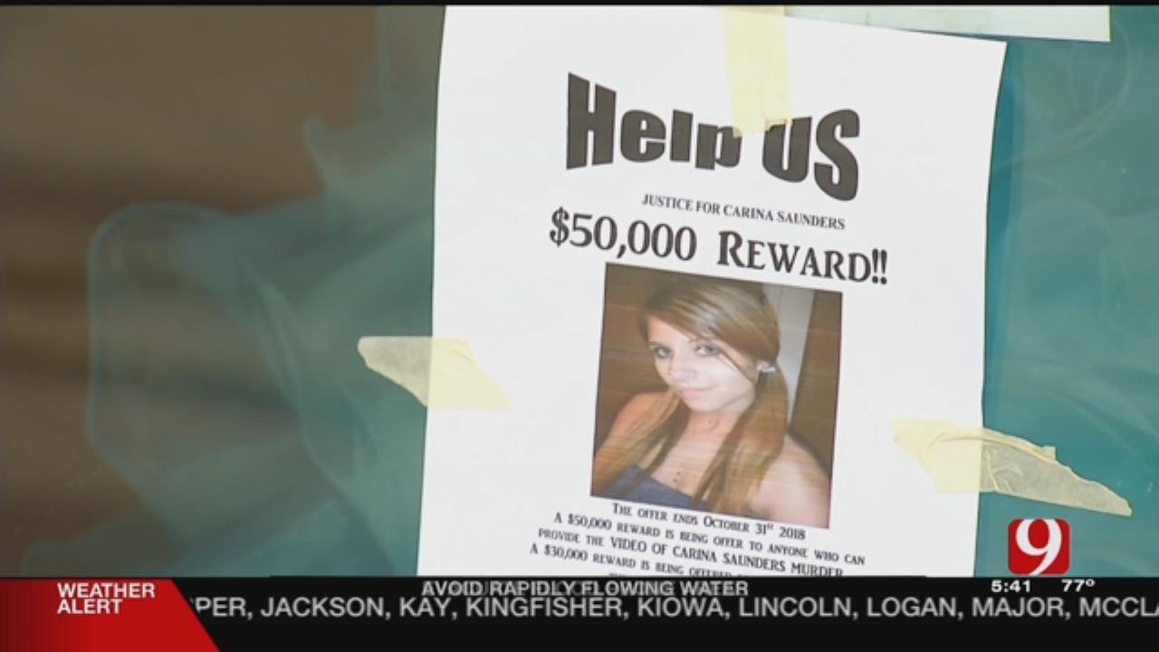 Volunteers Post $50,000 Reward Flyers For Video In Carina Saunders Murder