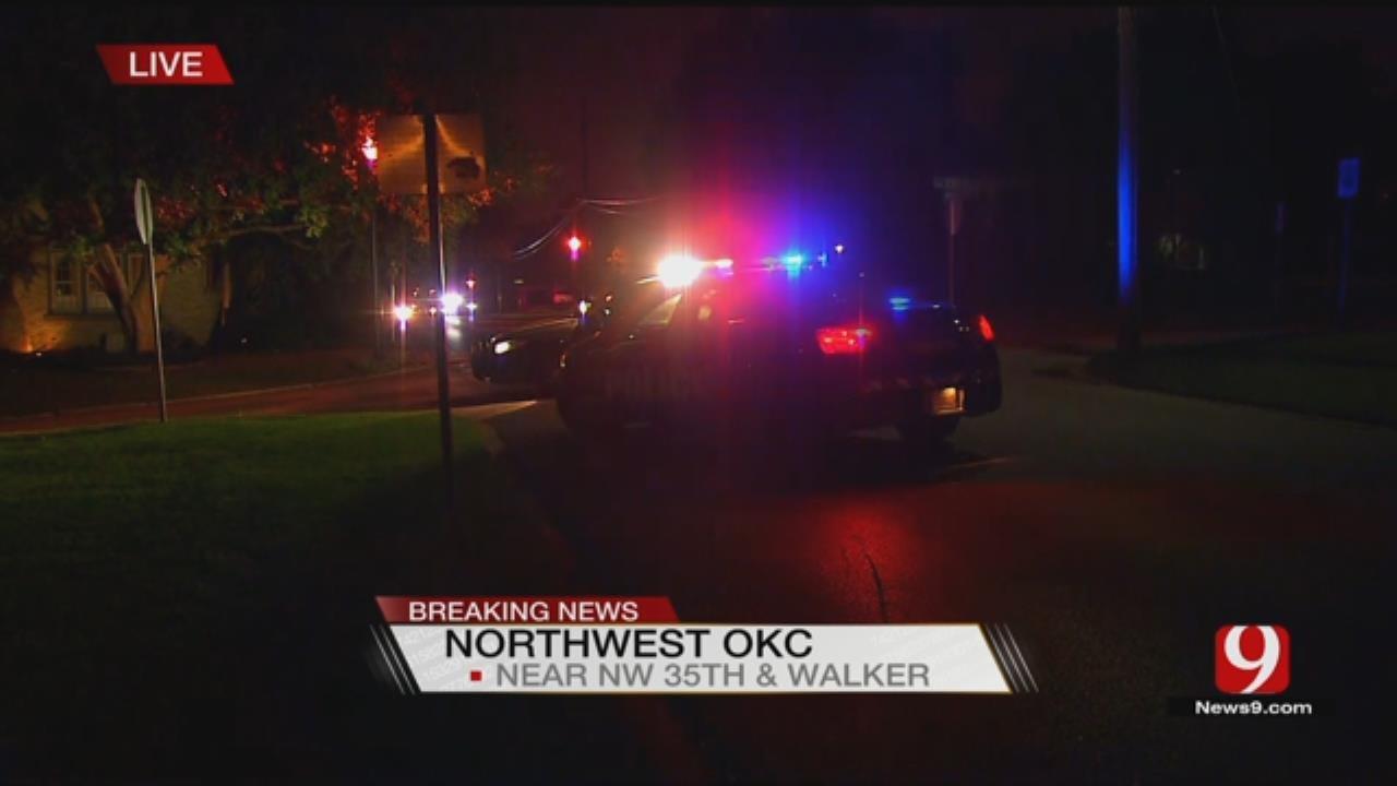 1 In Custody, 1 On the Run In NW OKC Police Pursuit
