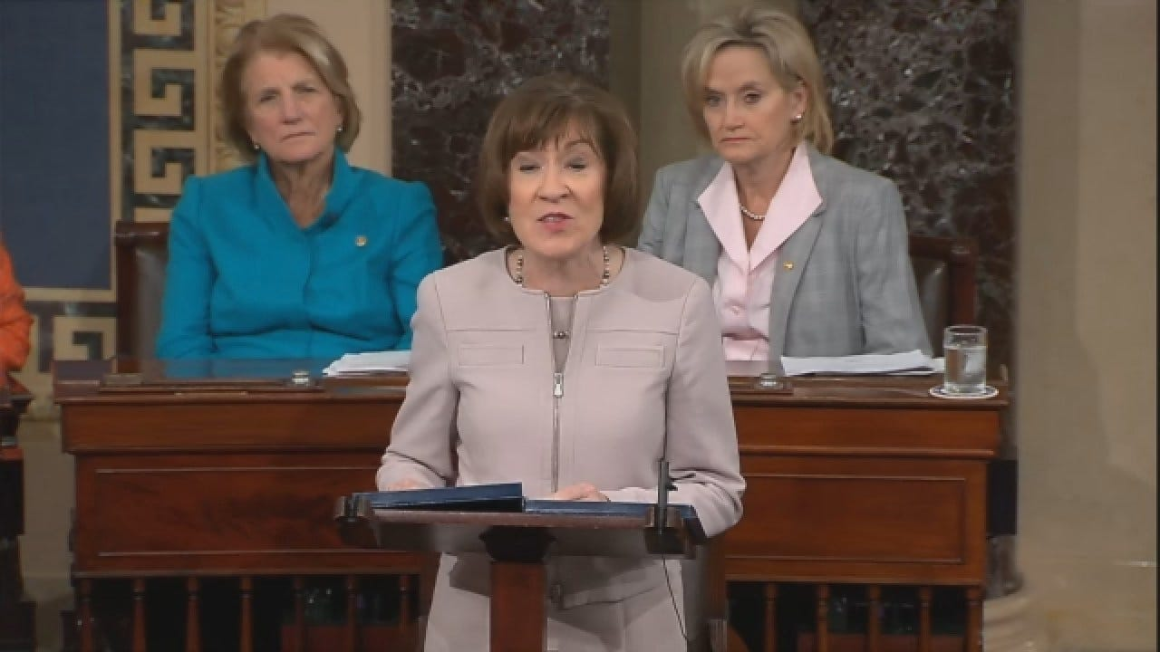 Sen. Susan Collins Announces How She'll Vote In Kavanaugh Confirmation