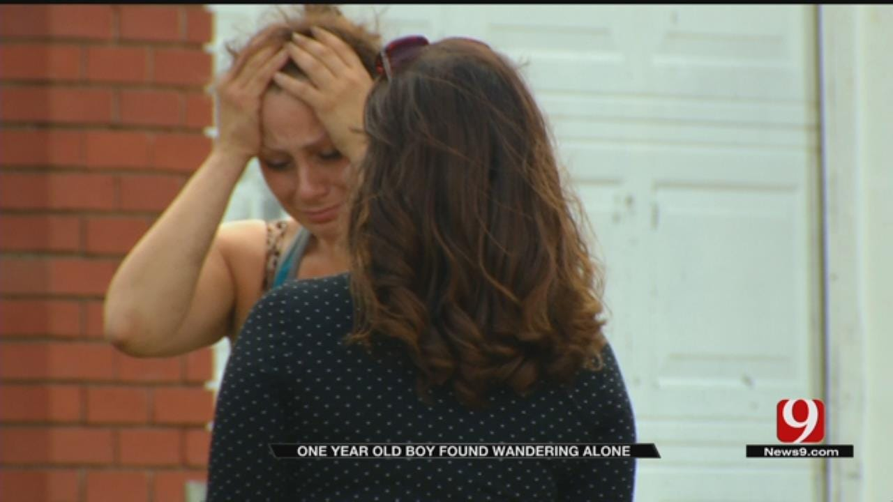 Mother Of 1-Year-Old Found Wandering Alone In MWC Located