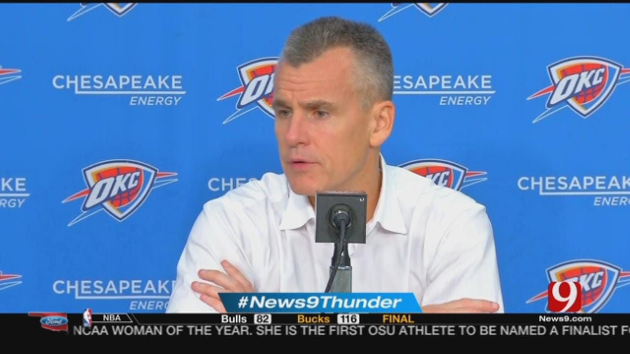 Thunder Report After Loss To Pistons In First Preseason Game