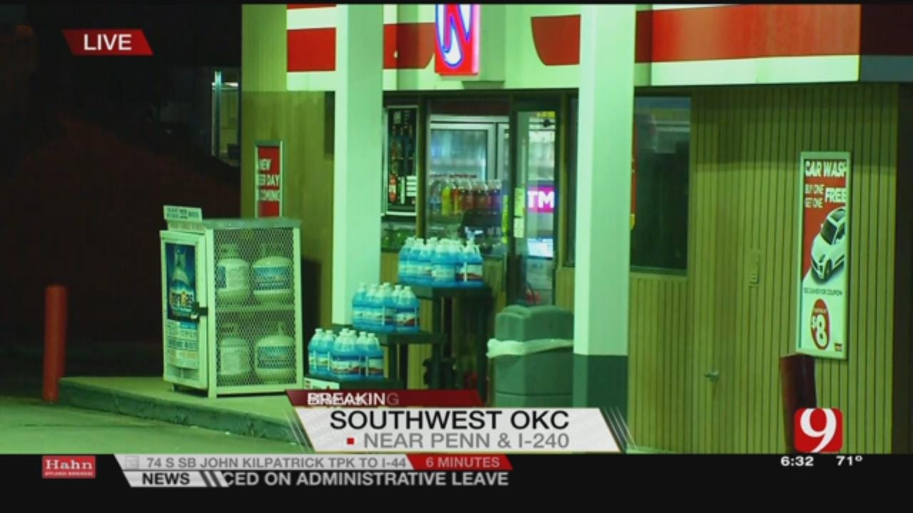 Armed Suspect Robs Convenience Store In Southwest OKC