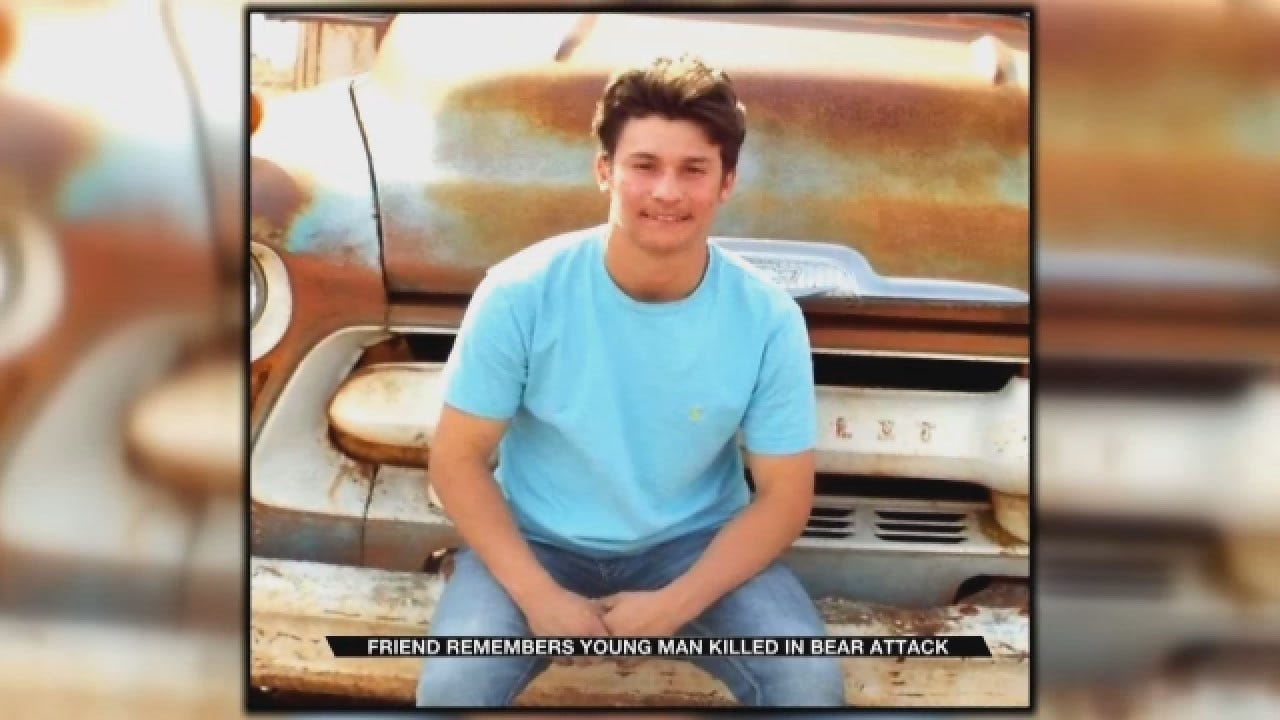 Friend Remembers Young Oklahoma Man Killed In Bear Attack