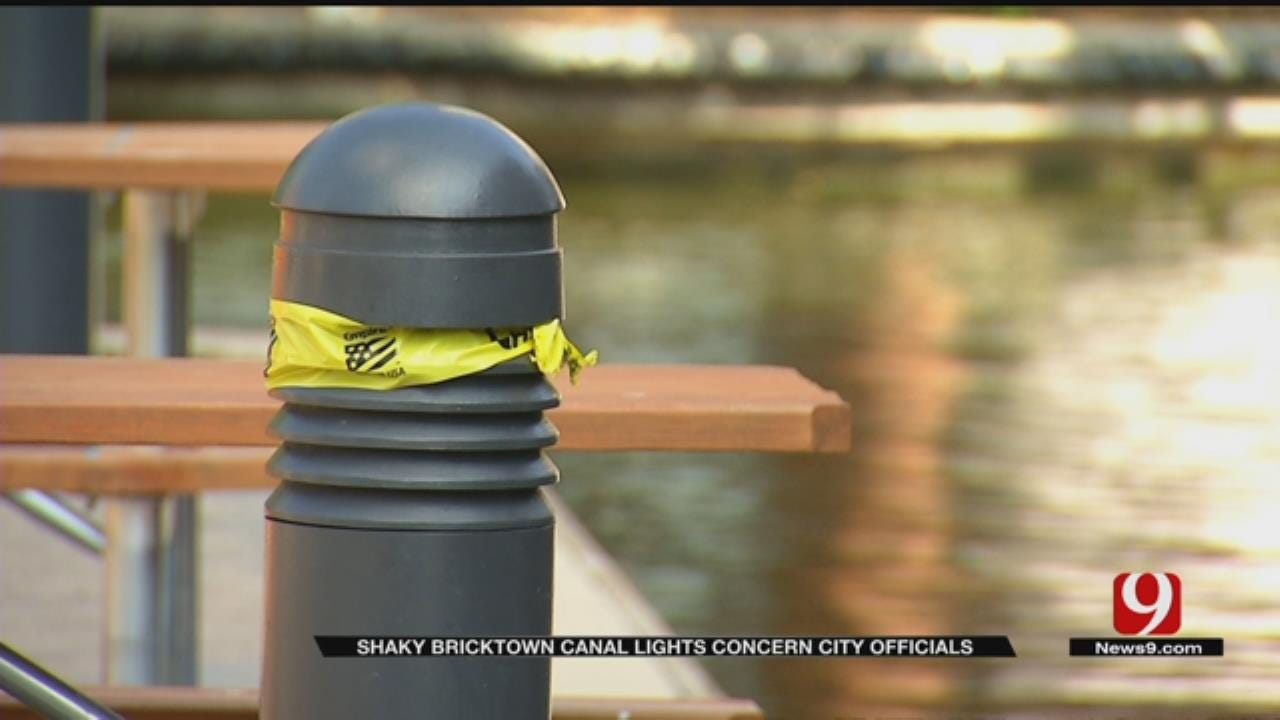 City To Repair Damaged Lights After Man Electrocuted In Bricktown Canal