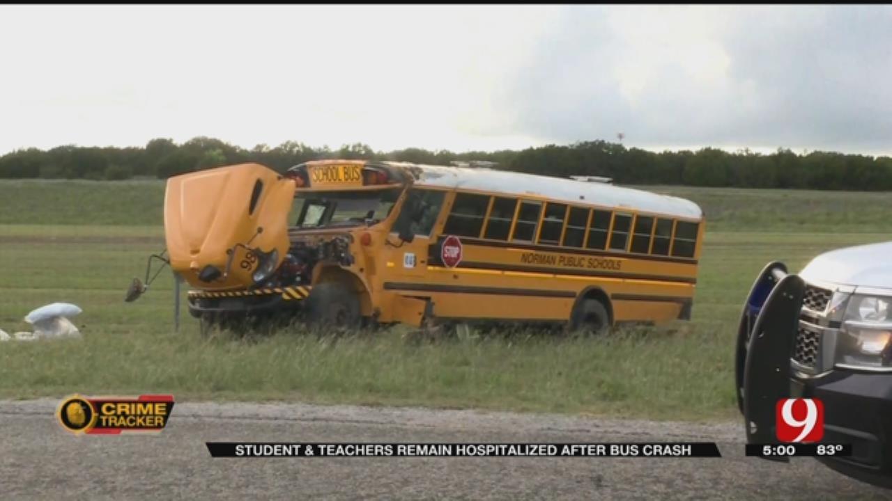 Norman 5th Grader In ICU Following Bus Crash