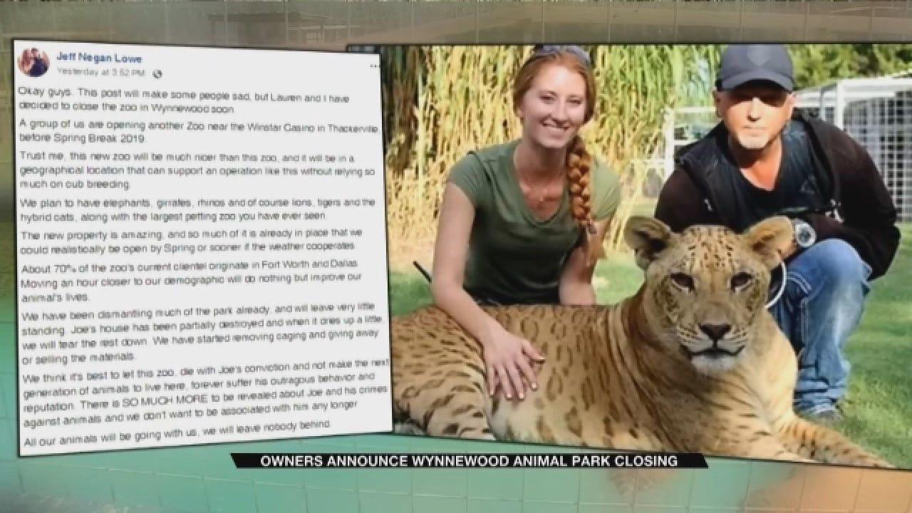 Joe Exotic's Once Beloved Tiger Park Dismantled