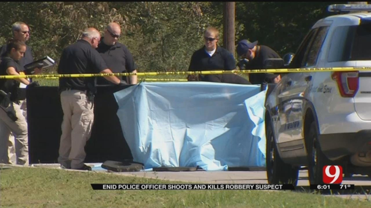 Armed Robbery Suspect Killed In Shootout With Enid Police