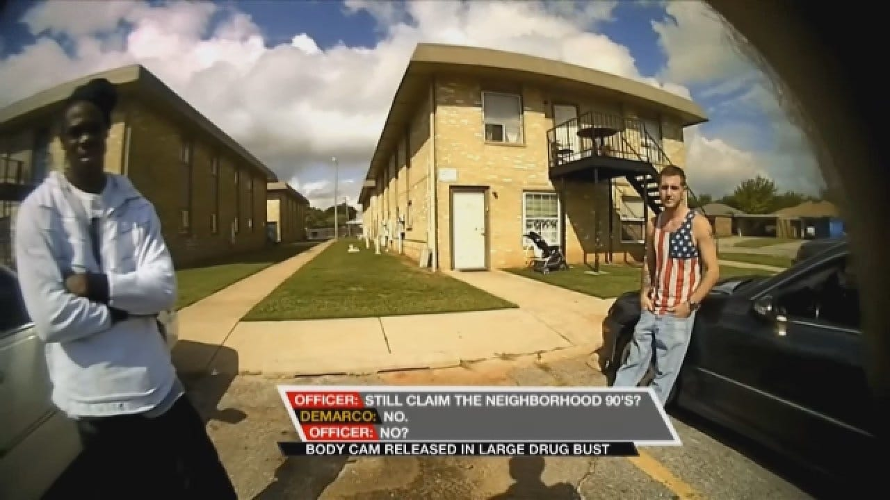 Body Cam Video Released In Large Drug Bust In Moore