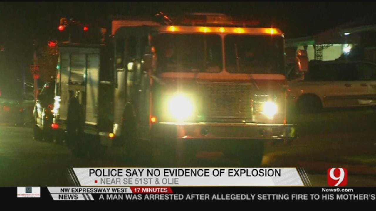OCPD Bomb Squad Investigate Pipe Bomb In SW OKC