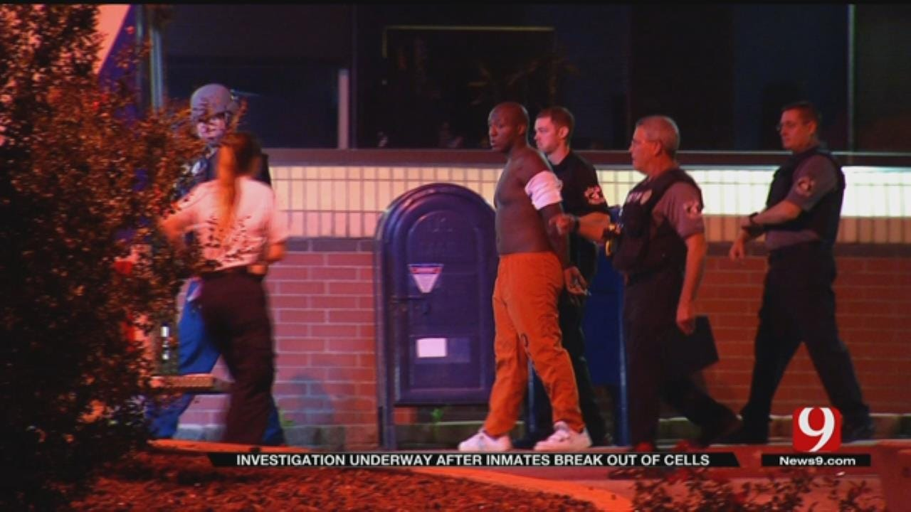 DA Investigating After Inmates Break Out Of Cells At Oklahoma County Jail