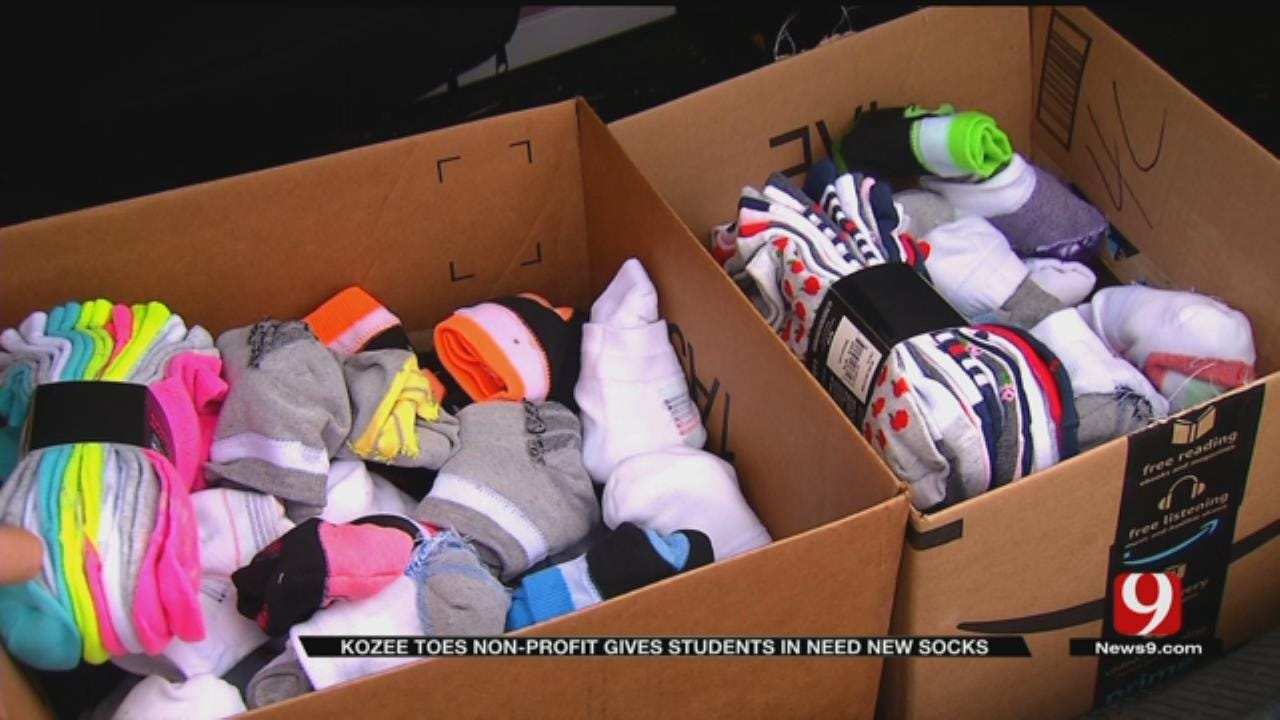 Oklahoma Woman Starts Non-Profit To Provide Socks To Students In Need