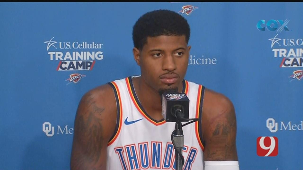 Paul George's 2018 Media Day Interview