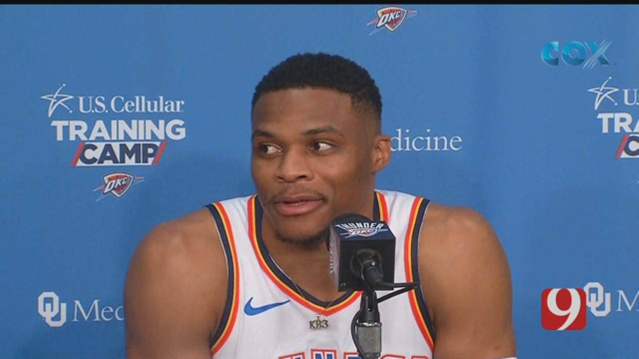 Russell Westbrook's 2018 Media Day Interview