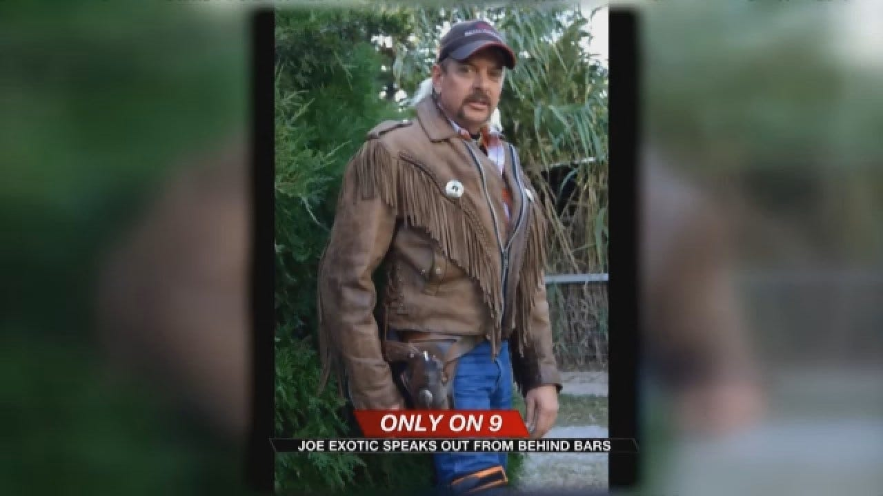 Joe Exotic Claims He's Being Framed By Zoo Owner