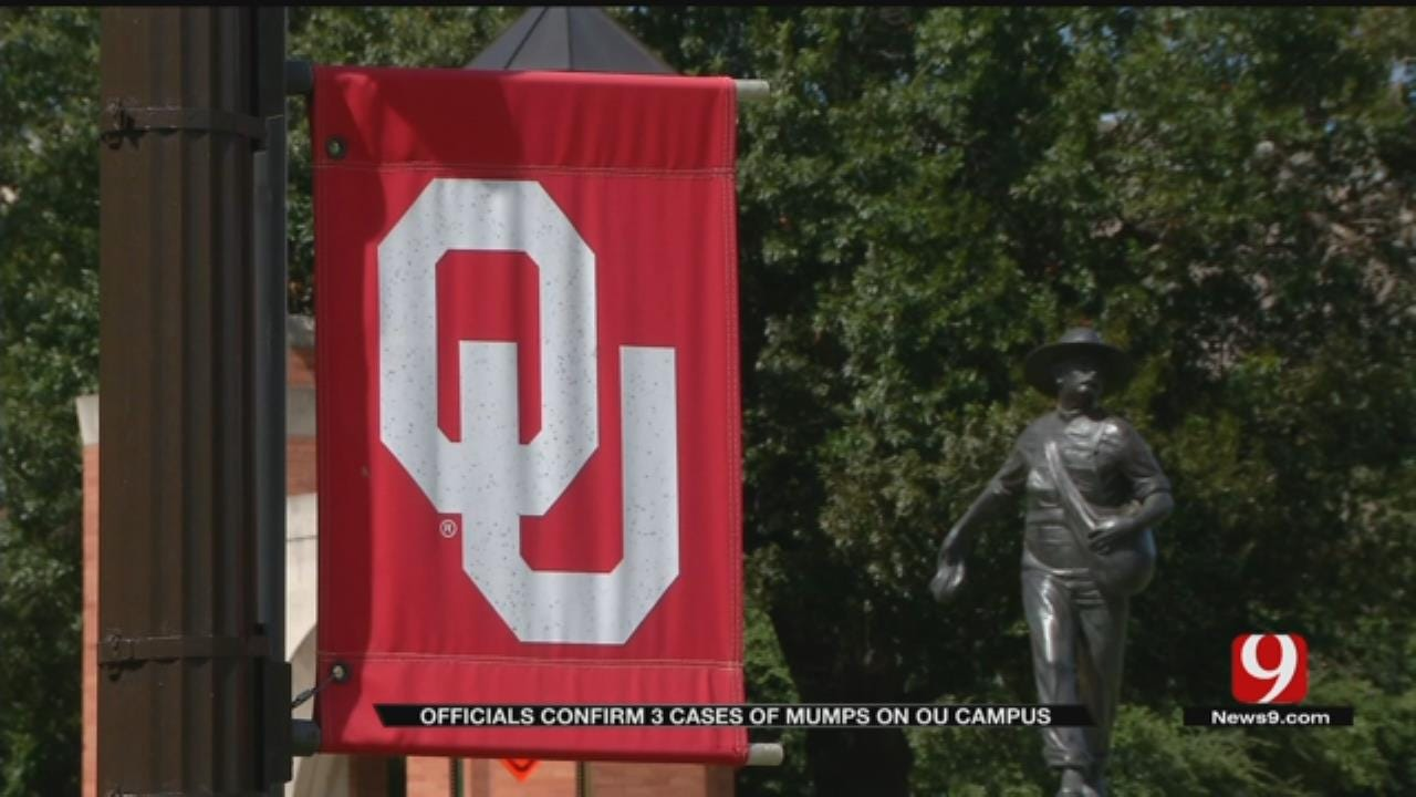 OSDH: Mumps Cases Confirmed At OU