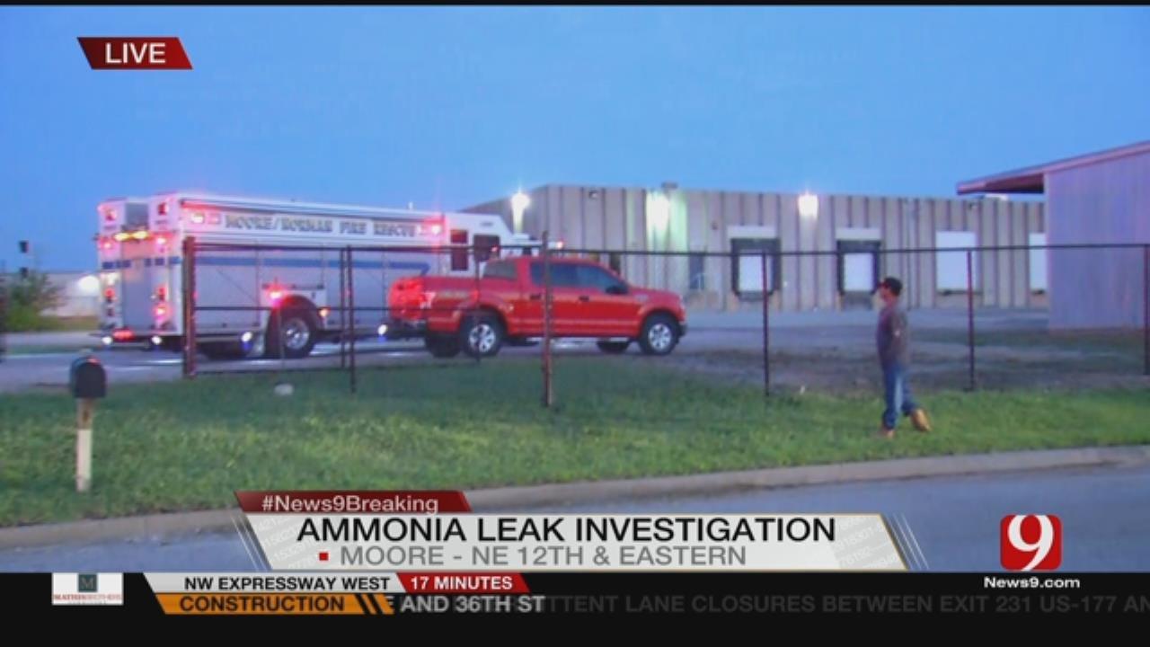 Ammonia Leak At Moore Food Plant