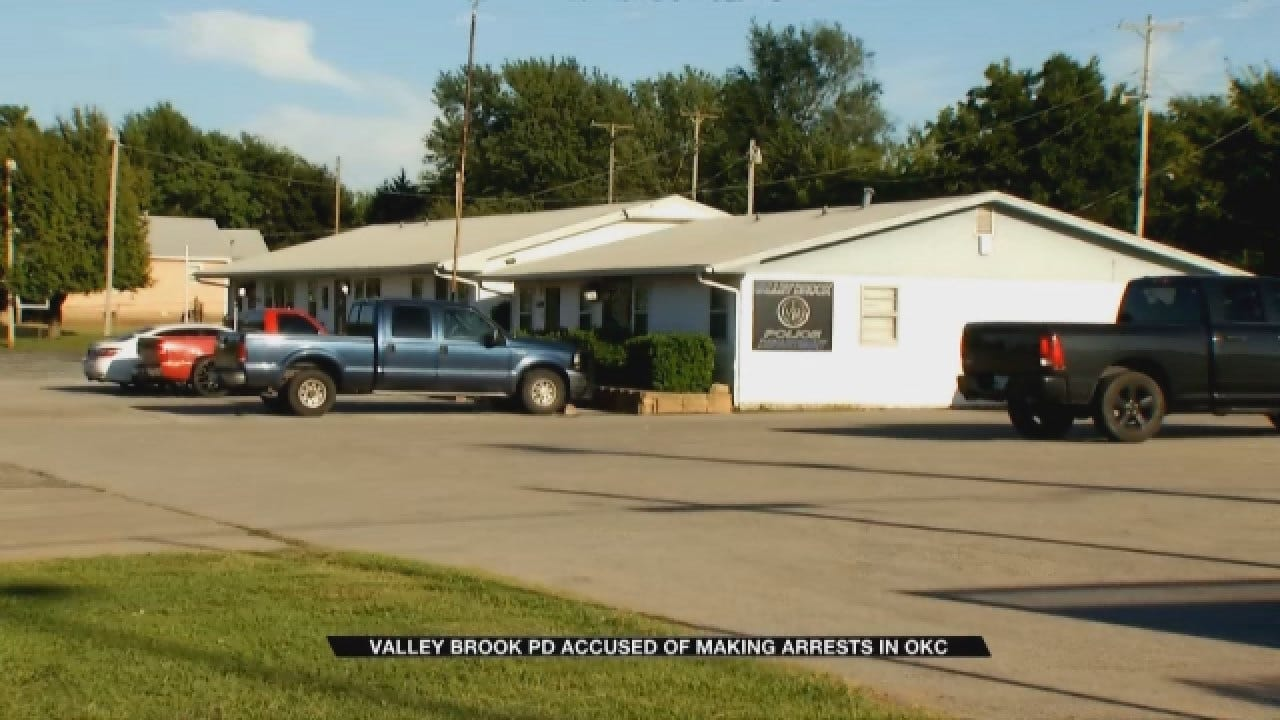 Valley Brook Police Department Accused Of Making Arrests In OKC