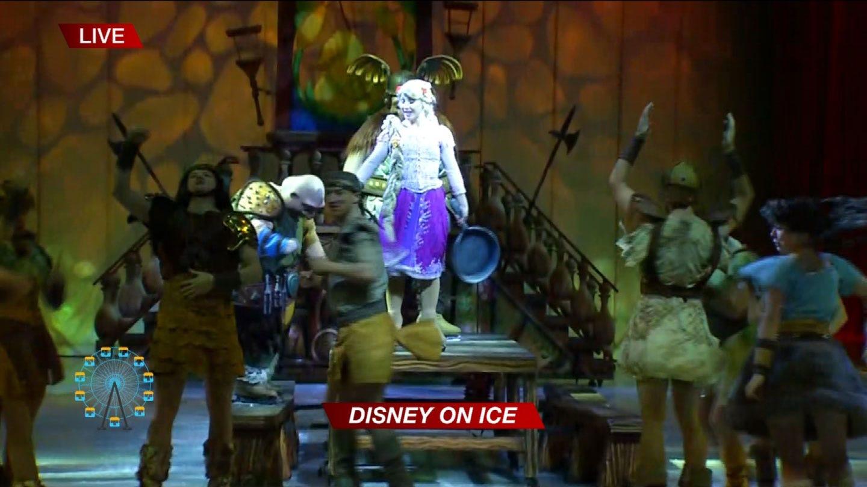 """Disney On Ice's """"Dare To Dream"""": Rapunzel"""