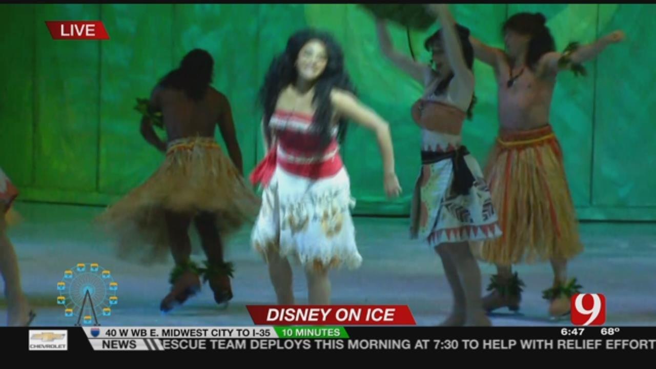 """Disney On Ice's """"Dare To Dream"""": Moana"""